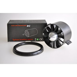 Midi Fan evo ducted fan unit / HET 650-68-2000, completely assembled, precision balanced and harmonically tuned