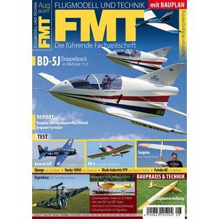 """FMT Heft 08/17 mit Beilageplan """"Jetpfeil"""" 1. Teil"""