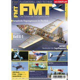 "FMT 09/17 incl. free plan of ""Jetpfeil"" by Wolfgang Werling"