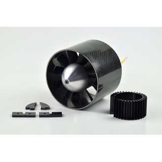 Midi Fan80 evo ducted fan unit / HET 700-60-1865 (8s / 112A / 37,5 N, completely mounted, balanced and harmonically tuned